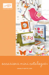 LINK TO OCCASIONS MINI CATALOGUE