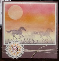 Horse-card-stamping-off-sample